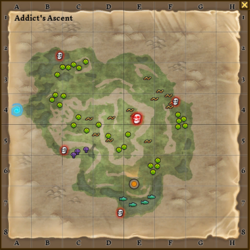 Addicts ascent map