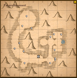 Tavern basement map