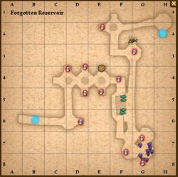 Forgotten reservoir map