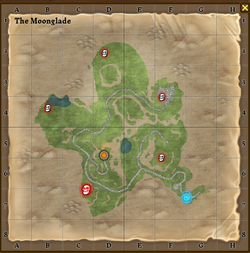 The moonglade map