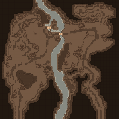 Map The Underground River