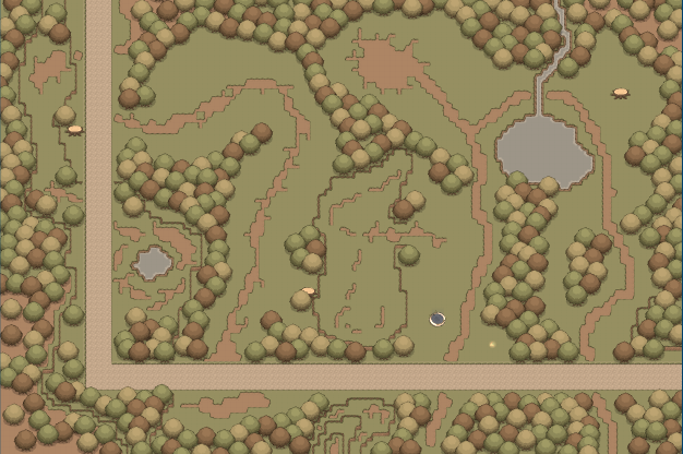 Map The Tangled Forest