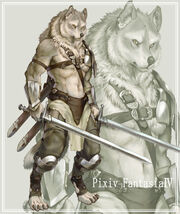 C1090 kouta wolf warior