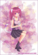Cat Girl by Nawal