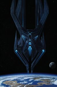 Titan AE Drej Fortress Ship