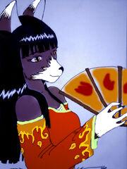 Fox Furry Colored by Renegade Samurai