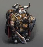 880x964 13638 Glasses 2d fantasy warrior dwarf picture image digital art