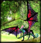 Sold posable winkle dragon sprite by wood splitter lee-d5a4zup