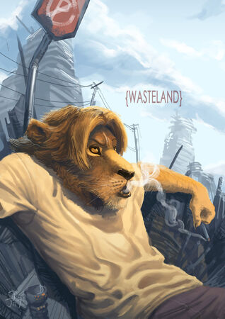 Wasteland by juruken