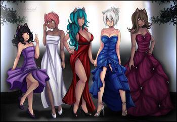 Rfts girls comm by nekochank-d4gc7xi