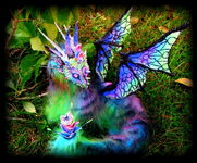 Sold majestic posable dragon by wood splitter lee-d5fj6oh