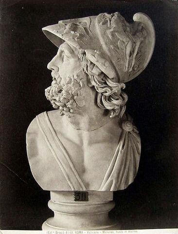 File:457px-Brogi, Giacomo (1822-1881) - n. 4140 - Roma - Vaticano - Menelao - Busto in marmo.jpg