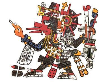 Quetzalcoatl Ehecatl