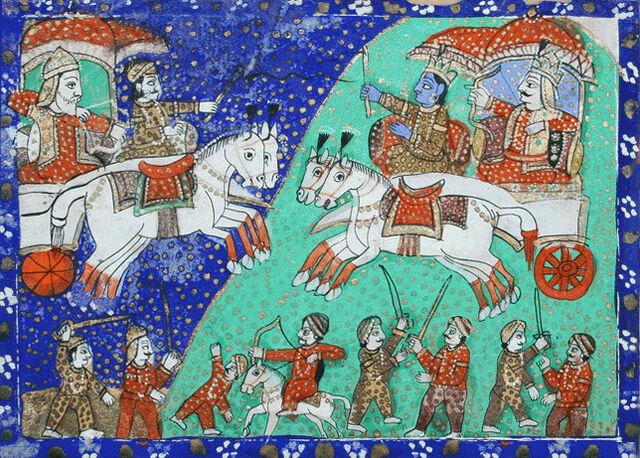 File:The Battle of Kurukshetra.jpg