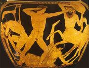 Theseus vs the Centaurs