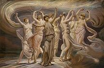 Elihu Vedder - The Pleiades, 1885