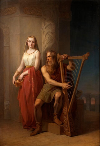 File:Idunn and Bragi by Blommer.jpg