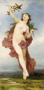 William-Adolphe Bouguereau (1825-1905) - Day (1881)