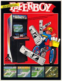Paperboy arcadeflyer