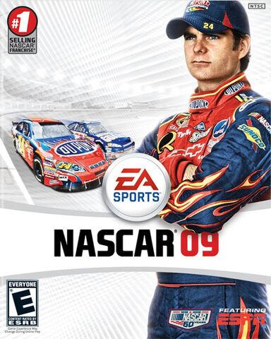 File:NASCAR 09 Cover.jpg