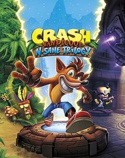 File:Crash Bandicoot N. Sane Trilogy cover art.jpg
