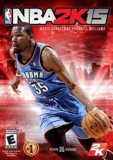 NBA 2K15 cover art
