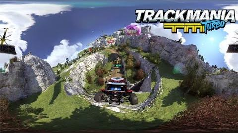 Trackmania Turbo – 360° demo - Valley Down & Dirty