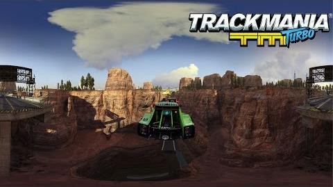 Trackmania Turbo – 360° demo - Canyon Grand Drift