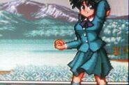 Yukari winter uniform
