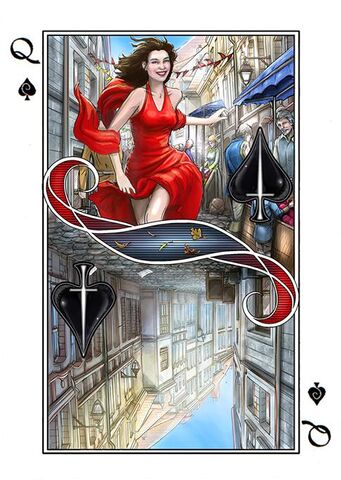 File:Playing Cards card Queen of Spades.jpg