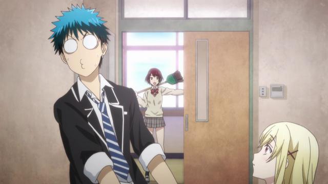File:Miyabi interrupts Ryu and Urara.png
