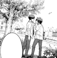 Ryu asks Kentaro to kiss him