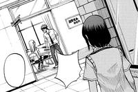 Saeko overhears Ryu's conversation with Urara