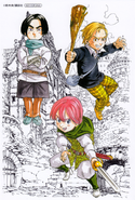 Novel 01 Illustration Card Animate
