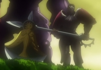 File:Escanor in his armor and axe from 10 years ago.png