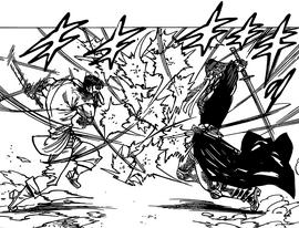Denzel fighting Fraudrin 1