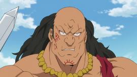 Northen Barbarian Chief up-close