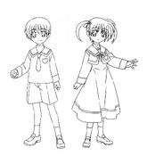 Seishou University-affiliated Elementary School Uniform Movie 1st