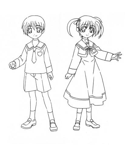 File:Seishou University-affiliated Elementary School Uniform Movie 1st.png