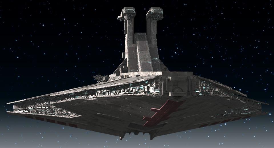 Venator Class Star Destroyer Nanoha And The Clone Wars