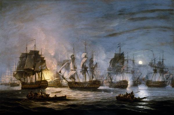 File:Thomas Luny, Battle of the Nile.jpg