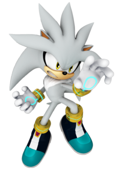 Silver The Hedgehog (2)