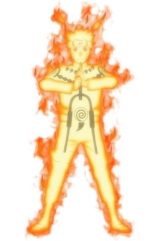 File:Naruto's Nine-tails chakra mode.png