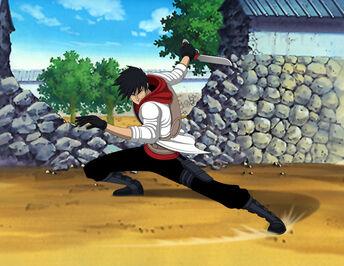 Naruto oc sarutobi juushiro action sequence by jarein-d5w7q99