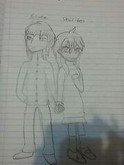 Yosuke and Shiriko Kuso