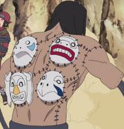 Kakuzu with masks.png