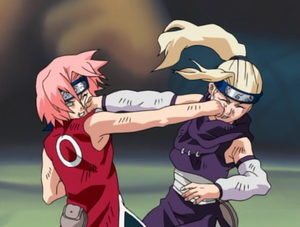Sakura vs ino