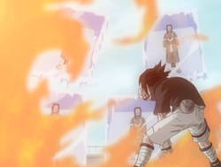 Sasuke Trying To Melt The Mirrors.PNG