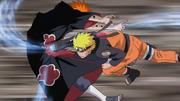 Naruto defeating Deva path