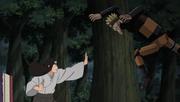 Neji vs Mecha-Naruto